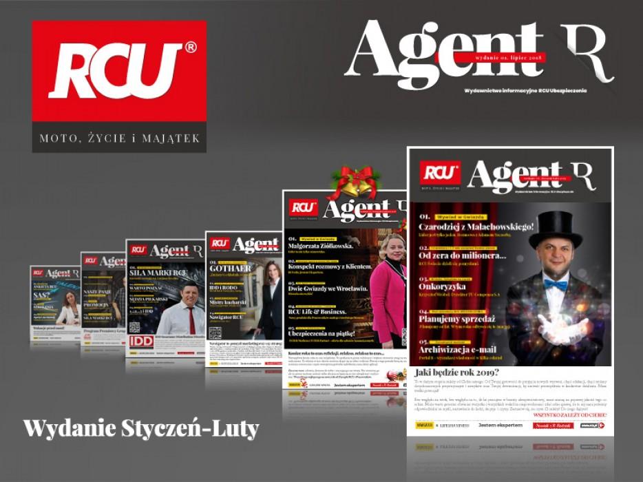 Magazyn Agent R. Wydanie Styczeń/Luty